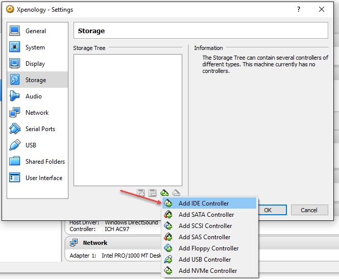 Install DSM 6 1-15047 in VirtualBox – XPEnology Club